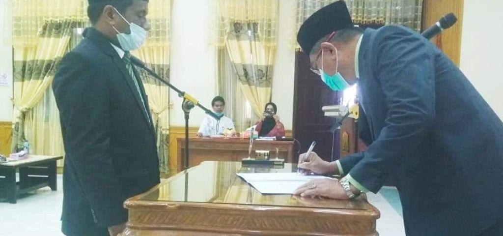 Akhir dari Seleksi Direktur PDAM, Ismail SE Pemenangnya dan Duduk Menjadi Direktur PDAM Tirta Tamiang