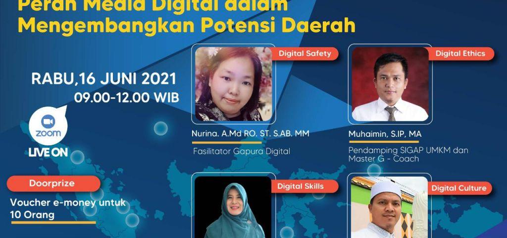 Webinar Gerakan Nasional Literasi Digital 2021